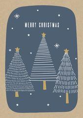 Personalised Christmas Cards, Christmas Cards To Make, Blue Christmas, Christmas Design, Christmas Greeting Cards, Handmade Christmas, Linoprint, Stamp Printing, Linocut Prints