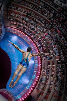 The AquaTheater onboard Royal Caribbean ships offer breathtaking views of the ocean and dazziling aqua performances. Caribbean Cruise Line, Royal Caribbean Ships, Ocean Cruise, Cruise Travel, Cruise Vacation, Allure Of The Seas, Crucero Royal Caribbean, Enchantment Of The Seas, Theater