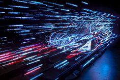 McLaren P1 Teaser McLaren vs Aerodynamics by Marshmallow Laser Feast , via Behance