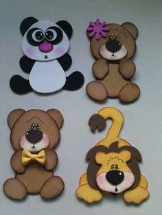 Kids Crafts, Foam Crafts, Diy And Crafts, Arts And Crafts, Paper Crafts, General Crafts, Punch Art, Felt Ornaments, Cute Cards