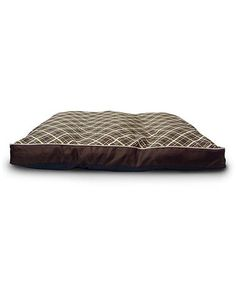 Brown Plaid Gusset Pet Bed by Bow-Wow Pet on #zulily - MACHNIE WASHABLE!  Only $20! several styles available