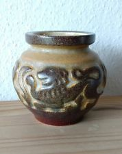 Marianne Starck for Michael Andersen nice art deco style vase w/ lions