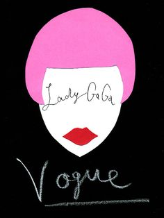Lady Gaga×Vogue  ピンクのボブがポップなレディ・ガガ。『Vogue US』でcheck!  撮影はMario Testino(マリオ・テスティーノ)