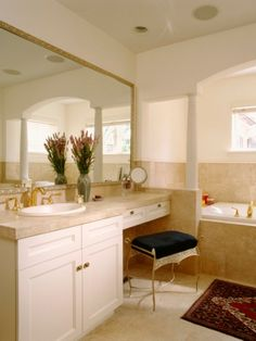 Take a Seat at One of These Gorgeous Vanities