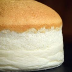 Japanese Cheesecake | it looks like magic. I must try this.