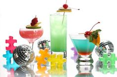 Spring Cocktails  http://www.lifelovebeauty.com/life/social-life/1041-colorful-cocktails-for-spring-neon-and-80s-inspired.html