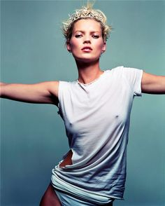 """Role Model""   Model: Kate Moss, Photographer: Craig McDean, Vogue UK, March 2008"
