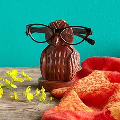 Look what I found at UncommonGoods: owl eyeglass holder... for $24 #uncommongoods