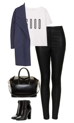 """""""Untitled #254"""" by lindsjayne ❤ liked on Polyvore featuring Topshop, MANGO, The 2nd Skin Co., Tom Ford and Givenchy"""