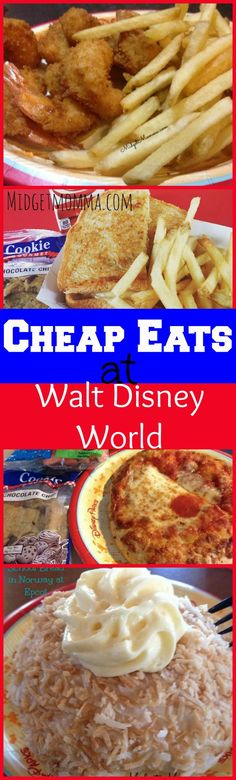 Cheap Eats at Disney World Disney food can get expensive but with these Cheap…