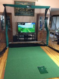 Our Pro Golf Package is our Most Popular Golf Package. Make sure to watch our Pro Series videos in the Video section below. Pro Golf Package Includes: Pro Series Sport Net and Frame Side Barriers (Pair) Pro Turf - Wide x Long oz. Golf 6, Play Golf, Disc Golf, Home Golf Simulator, Golf Room, Golf Simulators, Golf Putting, Golf Humor, Golf Fashion