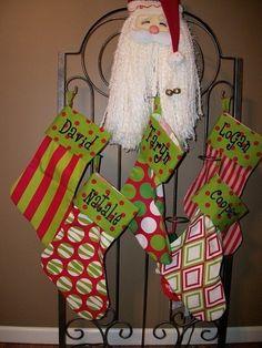 christmas stockings...love