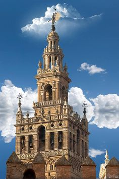 Gotische kathedraal La Giralda. Sevilla
