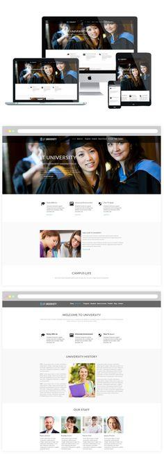 LT University Wordpress Theme. WordPress Blog Themes. $29.00