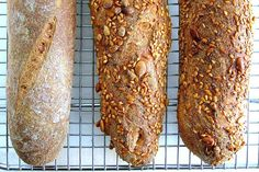 A whole-wheat version of the classic baguette.