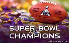 Baltimore Ravens Super Bowl Champions Wallpaper