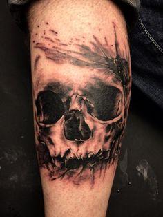 Skull Tattoos 5 - 80 Frightening and Meaningful Skull Tattoos  <3 <3