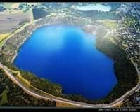 The Blue Lake in Mount Gambier, South Australia is a large monomictic lake located in an extinct volcanic maar associated with the Mount Gambier maar complex. It is one of four crater lakes on Mount Gambier