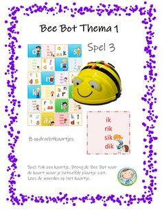 Bee Bot lezen met thema's - Weg van onderwijs Ipad, Bee, School, Robot, Honey Bees, Bees, Robots