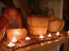 candlemas nature table