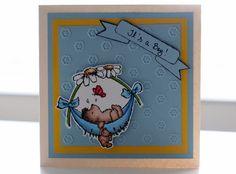 A baby card for P*skarteluhaaste #105