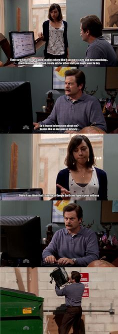 Parks and Rec <3 Hah!