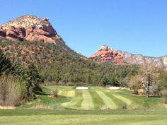 Golf course at Enchantment Resort in Sedona,AZ