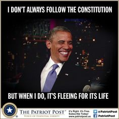 Humor: Obama Follows It — The Patriot Post
