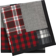 Patchwork Plaid Dog Blanket in Accessories | Crate and Barrel
