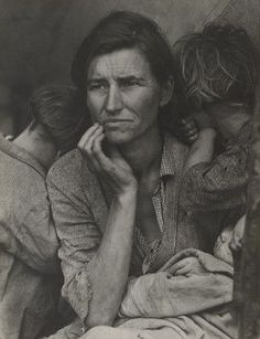 MoMA   Dorothea Lange. Migrant Mother, Nipomo, California. 1936 :)