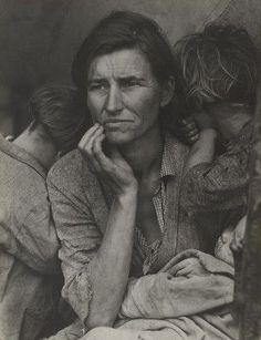 MoMA | Dorothea Lange. Migrant Mother, Nipomo, California. 1936 :)