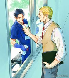 Levi and Erwin // AoT