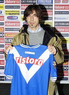 Andrea Pirlo, Brescia Calcio 2001.