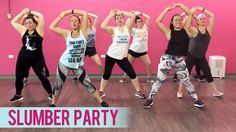 """Caleb AKA The Fitness Marshall and I teamed up to bring you this AWESOME dance fitness routine to """"Party"""" by Chris Brown ft. Dance Fitness, Fitness Fun, Zumba Fitness, Fitness Workouts, Britney Spears Slumber Party, Meghan Trainor Me Too, Zumba Routines, Fitness Routines, Fitness Marshall"""