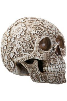 Floral Skull Charlie Immer- translucent bubbly genius Creative Boys Club » we love skulls www.creativeboysclub.com/tags/we-love-skulls