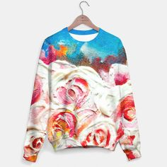 Roses On Fire Sweater, Live Heroes