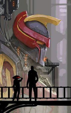 Mighty Morphin Power Rangers: Megazord, Zordon, and Alpha 5