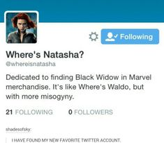 Where is she? Because in Civil War she divide off from Tony's compound and was never seen again. You expect me to believe she didn't go help Cap break them out if prison? He didn't need and scorer hacker's help to get in? That she didn't go to help release her best friend and the father of her niece and nephews? The only other female Avenger who lost so much and been treated so shit by the media and even Tony and was then tortured? SHE WAS THERE DAMMIT.