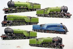 The showcase site for the creative work of WD, GS, and DP Cooper Rr Logo, Uk Rail, Heritage Railway, Foto Top, Train Art, British Rail, Garage Art, Mode Of Transport, Commercial Vehicle