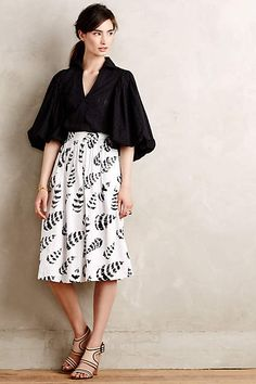 Amalia Blouse - anthropologie.com #anthroregistry; maybe with a sharp pencil skirt or something more tailored