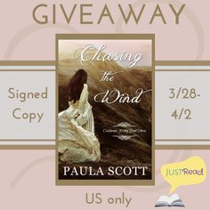 Chasing the Wind by Paula Scott -- Blitz - Singing Librarian Books