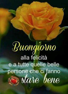Immagini per Buongiorno amici 5871 Italian Memes, Italian Quotes, Good Day, Good Morning, Italian Greetings, Day For Night, Leadership, Humor, Instagram Posts