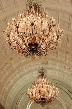 Chandeliers I like these for my entranceway