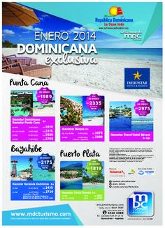 publicidad gráfica para MDC Turismo e Iberostar
