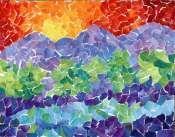 Landscape Paper Mosaic
