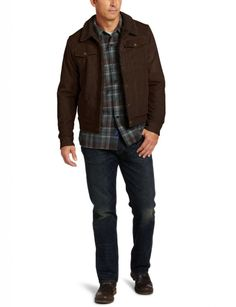 U. S Polo Assn has two front double welts slash pocket. You can choose the available color such as dark brown and black. This jacket is perfect for your casual appearance, because made from high quality materials for the suitable wear.