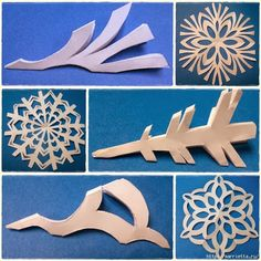 DIY Paper Medallions Miniaturized & DIY Paper Snowflakes Here To Beautify Your Holidays [Detailed Guide+Template] Kids Crafts, Diy And Crafts, Paper Crafts, Paper Art, Paper Toys, Paper Medallions, Snowflake Template, Snow Flakes Diy, Snow Flakes Paper