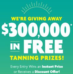 Sun Tan City Instant Win Game ( Over 8,400 Winners!)