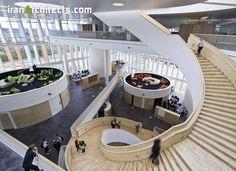 Project Name: Ørestad College Construction year: 2006 Architect(s): 3XN Architects   کالج اورستاد اولین کالجی است که در دانمارک ، چشم انداز آموزشی جدیدی را در مورد سیستمهای تدریس به وجود آورده است   http://iranarchitects.com/company/559/webert