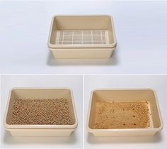 This litter box isn't as stylish as others that we feature on Hauspanther, but the pure functionality has me giddy! This is the Feline Pine Self-cleaning Litter Box, and it is fabulous! Cat Litter Box Diy, Rabbit Litter Box, Self Cleaning Litter Box, Cleaning Wood, Wood Pellets, Buy A Cat, Cat Furniture, Diy Stuffed Animals, Sandbox